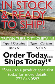 Contact us about our Triton Turbidity Curtain options!